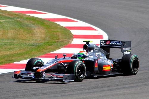 Sakon Yamamoto - Hispania Racing (HRT)