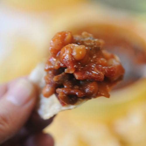 Hearty Baked Beans -- on chip