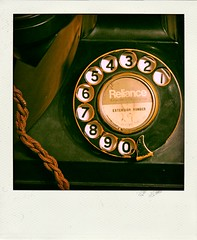 telephone (Leo Reynolds) Tags: polaroid phone telephone fake dial faux phoney fakepolaroid fauxpolaroid poladroid hpexif phoneypolaroid grouppoladroids xleol30x