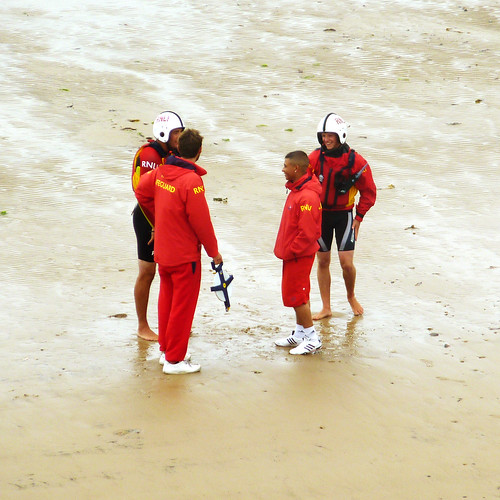 4 lifeguards