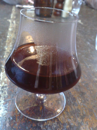 Kenyan coffee pourover
