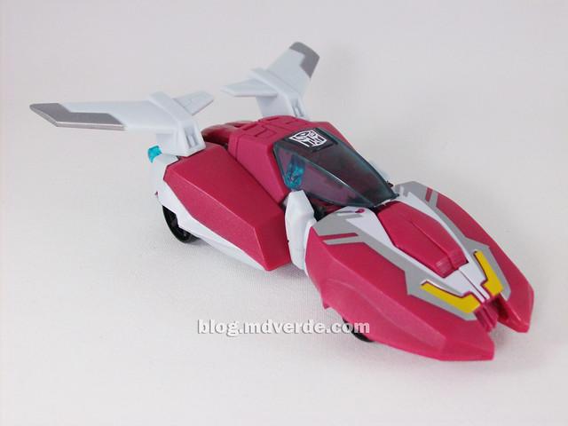 Transformers Arcee Animated Deluxe - modo alterno