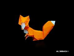 Fox (Al3bbasi.) Tags: animal origami fox romandiaz al3bbasi