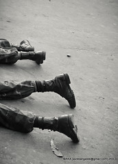 Boots - 25th of February (AvikBangalee) Tags: death fight war uniform boots shooting dhaka crawling bangladesh armedforces mutiny dhanmondi bdr bordersecurityforce bangladeshrifles