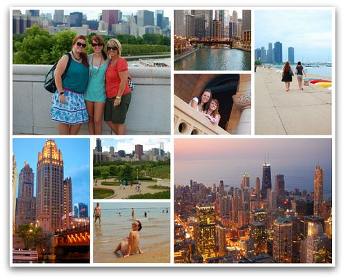 Chicago trip collage