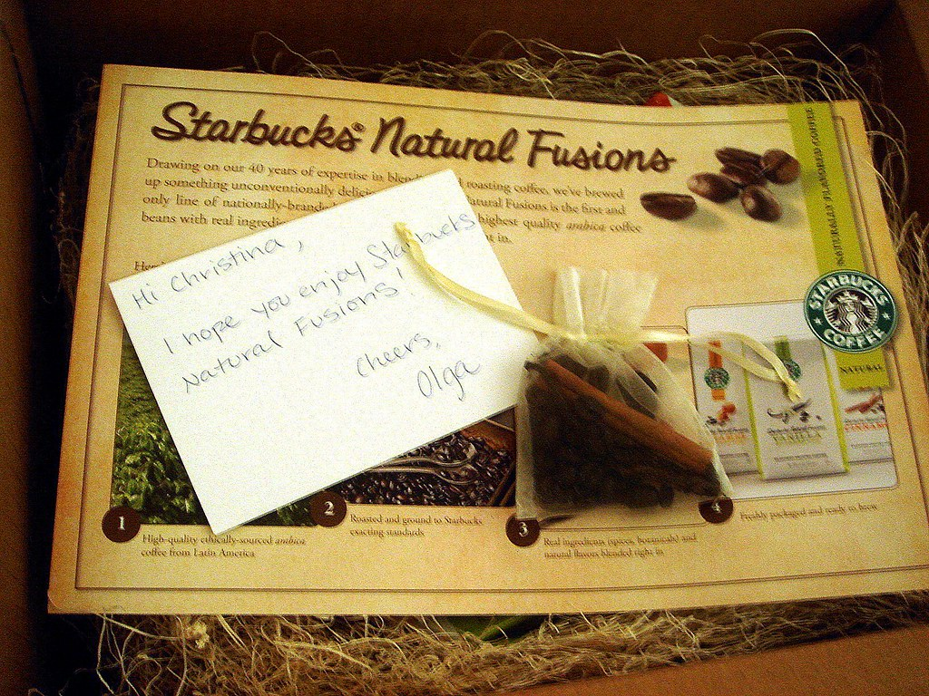 Starbucks Natural Fusions Coffees