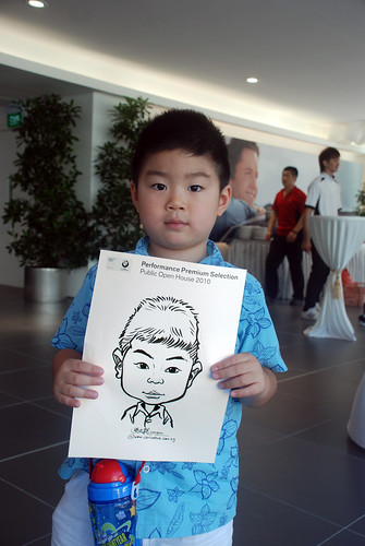 Caricature live sketching for Performance Premium Selection BMW - Day 2 - 20