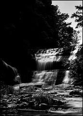 Balls Falls (Revolution Imaging) Tags: longexposure bw nikon waterfalls nikkor ballsfalls d90 jordanstation 18105mmvr johnlatimerphotography