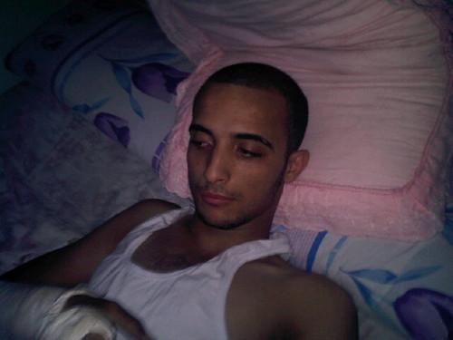 محمد صلاح ضحية التعذيب بالدقهليه2