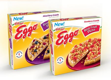 Eggo Real Fruit Pizzas