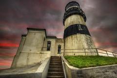 Cape Disappointment Lighthouse - Ilwaco Washington 2 - HDR