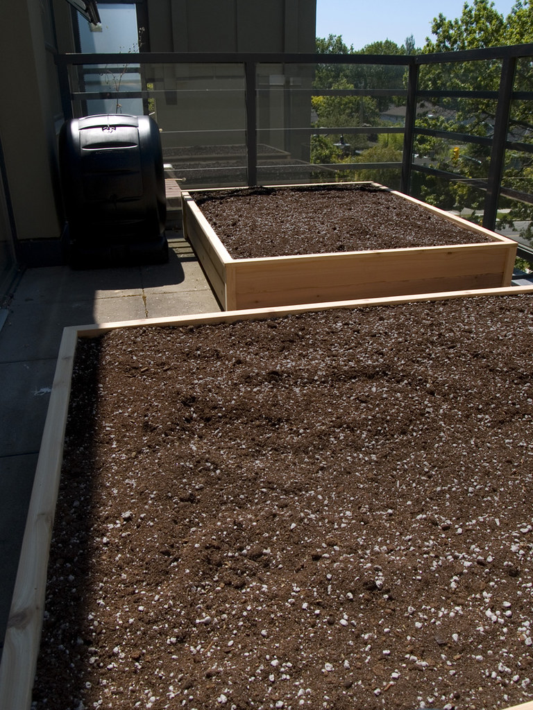 Balcony garden beds 1