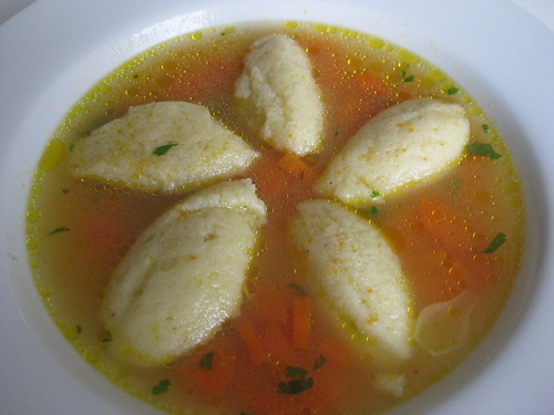 Semolina Soup Dumplings