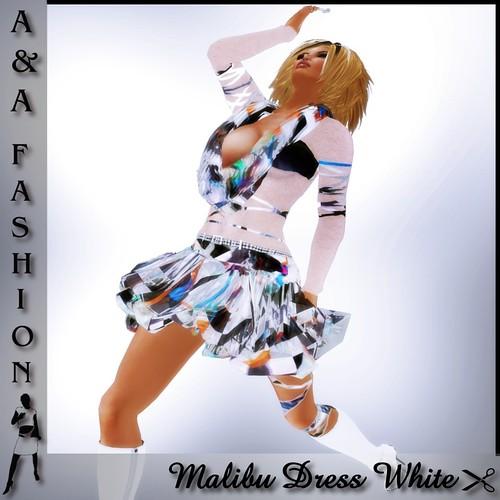 A&A Fashion Malibu Dress White
