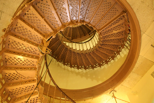 Staircase up the centre of Victoria Tower