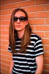 Almost twenty-year-old (hummyhummy) Tags: portrait 50mm takumar kodak filter leonardo polarizer kodakportra160vc iso160 pentaxspotmaticsp2