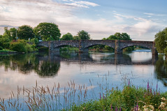 Cree Bridge (Dan Baillie) Tags: sky water clouds reflections river scotland earlymorning trout galloway cree slamon newtonstewart wigtownshire danbaillie bailliephotographycouk bailliephotography wigtownshirephotographer dumfriesandgallowayphotography