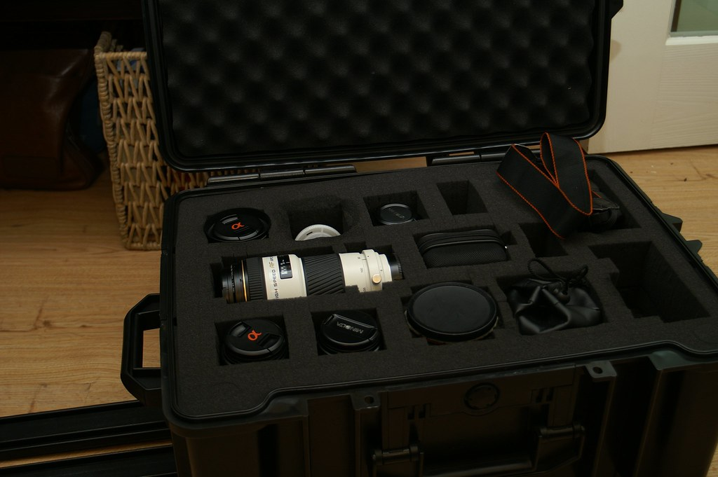 Camera Gear in Safety Case