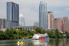 Austin Texas Skyline Capital City Architecture Skyscrapers Town Lake Photographer Austonian Frost Bank Tower Parks Outdoor Recreation Kayak Canoe Riverboat Bridge DSC_3548 (Dallas Photo Today) Tags: city bridge lake tower skyline architecture austin town frost kayak texas photographer skyscrapers outdoor capital parks bank canoe riverboat recreation austonian