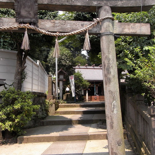 the Fukiage Inari Shrine 01