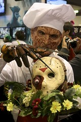 Dinner is served. (Brian Wilkins) Tags: jason costume sandiego chef glove comiccon 2010 sdcc freddiekrueger upcoming:event=4170510