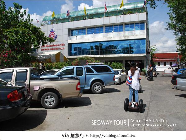 【泰國自由行】曼谷玩什麼?Segway塞格威帶你漫遊~6