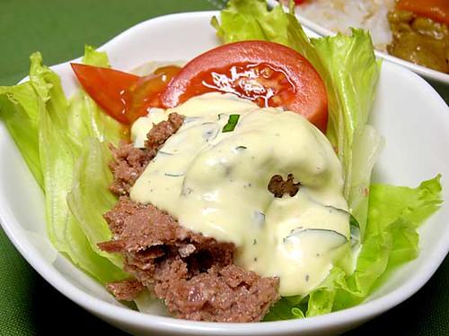 コンビーフのサラダ