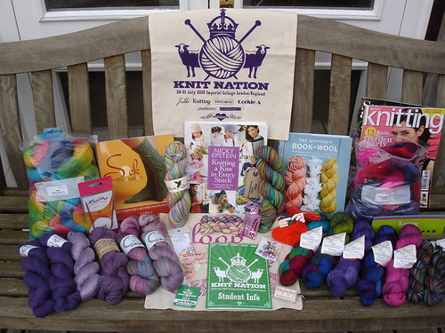 KnitNation purchases 2010 034