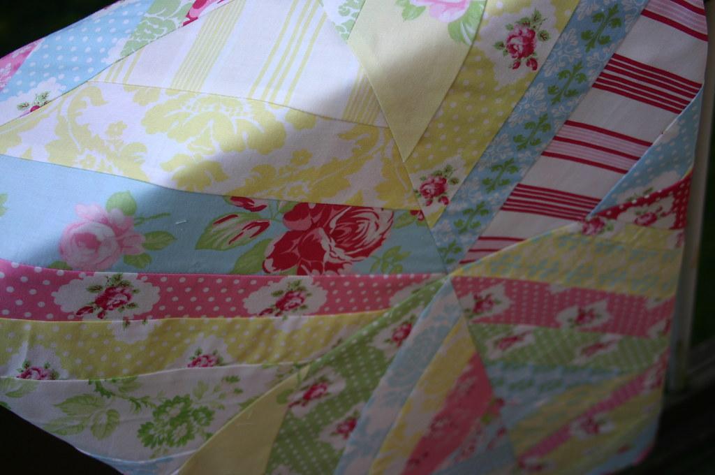 Darla String Quilt - detail