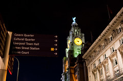 Cultural Quarter (JerryBones) Tags: night liverpool signage pierhead bymike merseyside liverbuilding