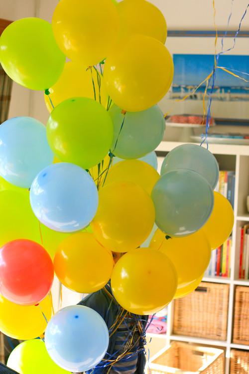 crazy balloon antics