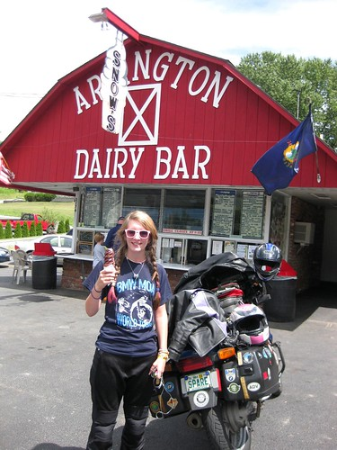 Arlington VT Ice Cream stop