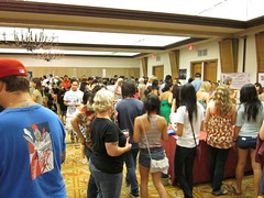 Cupcake Camp OC - It was crowded. Super crowded.
