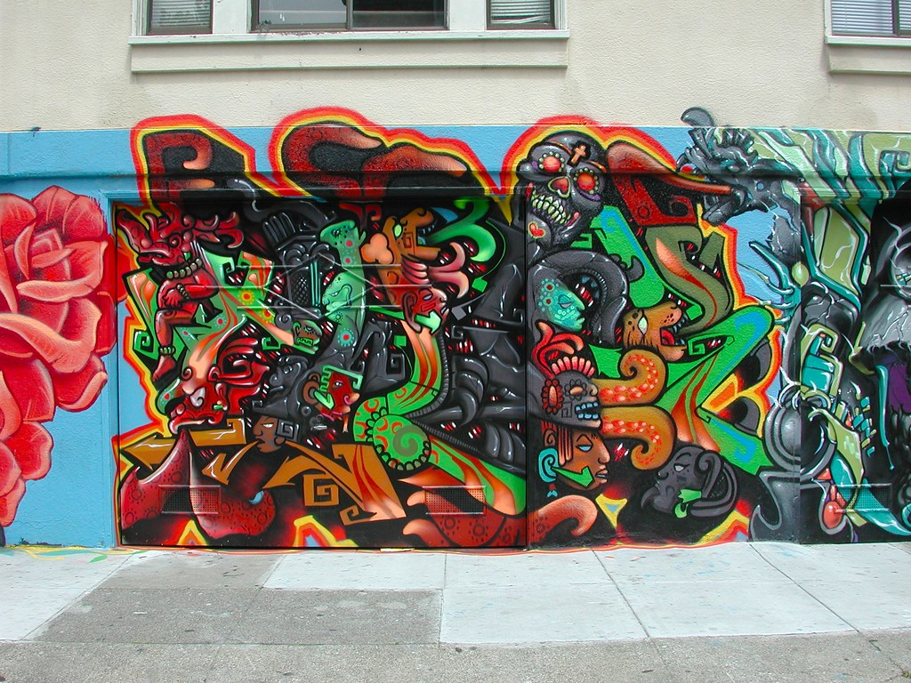 TWICK, Graffiti, Street Art, San Francisco