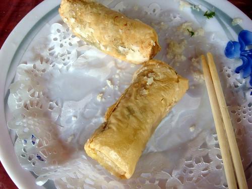 新埔 劉家莊燜雞-香酥豆腐捲