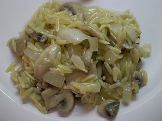Mushroom Orzo @ The Domestic Engineer