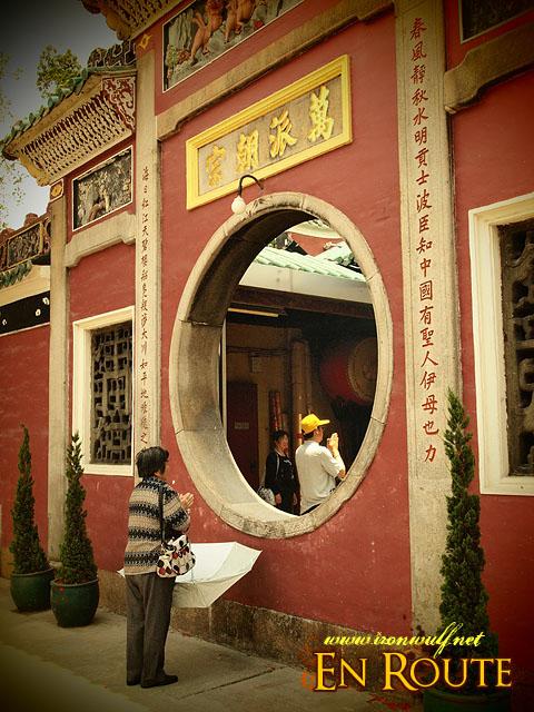 Praying at Macau A-Ma Temple