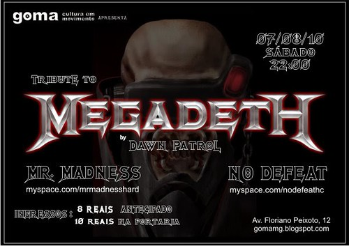 07/08/10: Tributo ao Megadeth