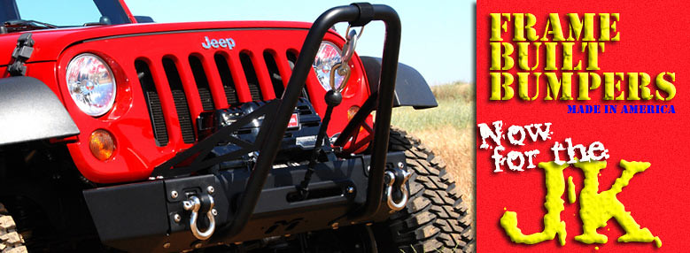 Jeep JK Wrangler Modular Frame-Built Bumper