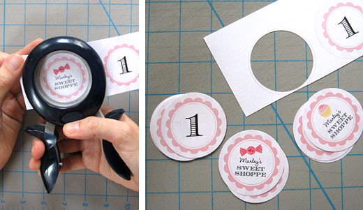 How To Make Cupcake Toppers A Photo Tutorial Chickabug