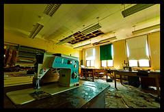 John Grant High School-16 (Sebastian T.) Tags: school abandoned ruins closed urbandecay highschool forgotten urbanexploration sewingmachine derelict deserted abandonment decayed dilapidated abandonedbuildings modernruins