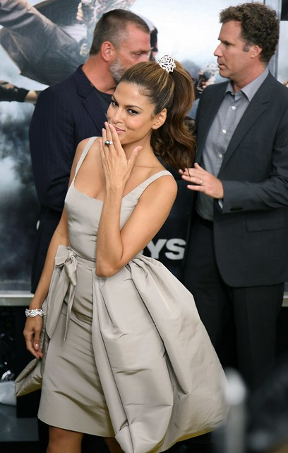 "Eva Mendes, ""The Other Guys"" Film Premiere, New York"