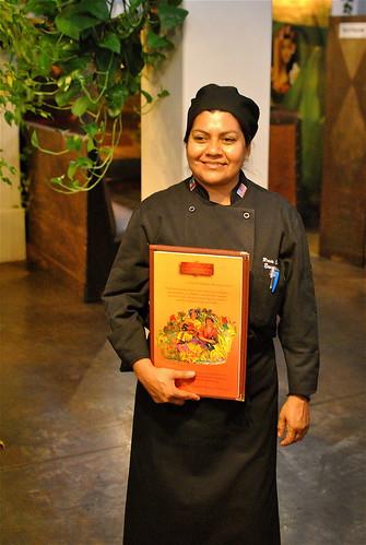 Rocio Camacho Chef Of La Huasteca