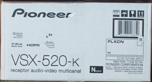 Pioneer - VSX-520-K - 5.1-Channel 3-D Ready A/V Receiver (New) 4856481792_9b007a1aeb