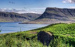 Hvalfjrur (axelkr) Tags: trees sea wallpaper mountains nature background widescreen hdr 1920x1200 1610 1440x900 3xp photomatix 1680x1050 1024x640 1280x800 2560x1600 handheldhdr 2048x1280
