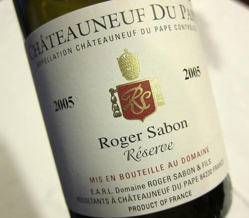 Roger Sabon Chateauneuf Du Pape