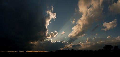 Berlins Nordkap - Sonnenuntergang