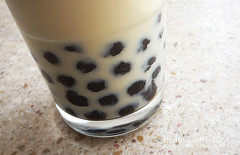 milch-bubble-tee (Token-Bento) Tags: bubbletea boba pearltea milktea pearlmilktea tapioka bubblemiltea tapiokapearl