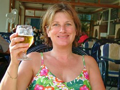 Cheers! (copperbottom1uk) Tags: woman beer smile drink