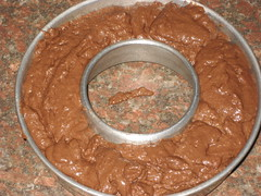 chocolate okara cake